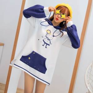 Kawaii Star Coat Dress JK1011