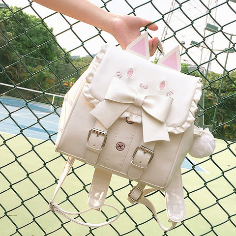 Kawaii Cats Ear Backpack JK1238