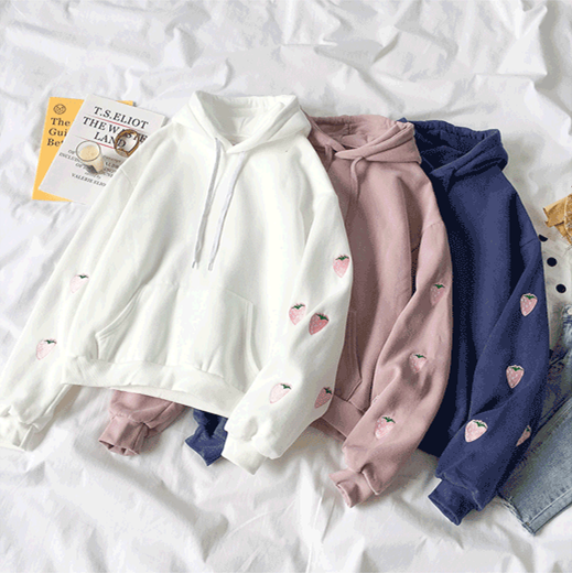 Lovely Strawberry Hoodie JK1279
