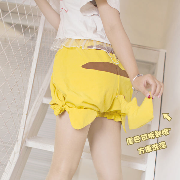 Cute Pikachu Shorts JK2463