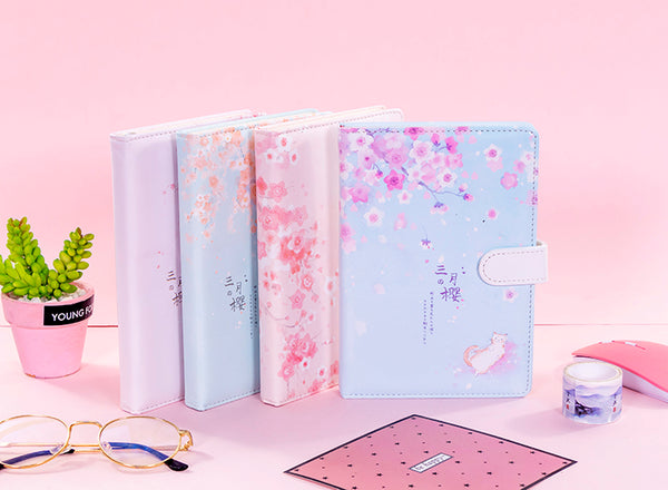 Sakura Cat Notebook JK2356
