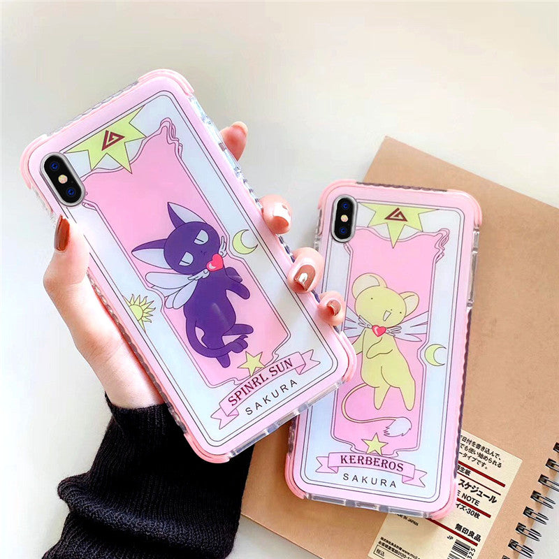 Lovely Sakura Phone Case for iphone 6/6s/6plus/7/7plus/8/8P/X/XS/XR/XS Max JK1679