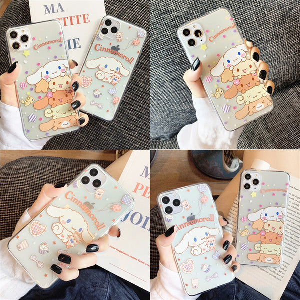 Lovely Cinnamoroll Phone Case for iphone 6/6s/6plus/7/7plus/8/8P/X/XS/XR/XS Max/11/11 pro/11 pro max JK1913