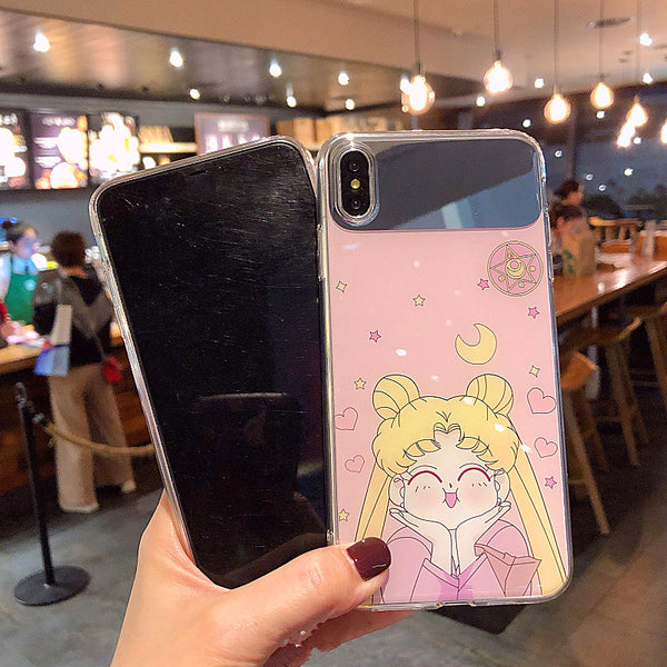 Happy Usagi Phone Case for iphone 6/6s/6plus/7/7plus/8/8P/X/XS/XR/XS Max JK1216