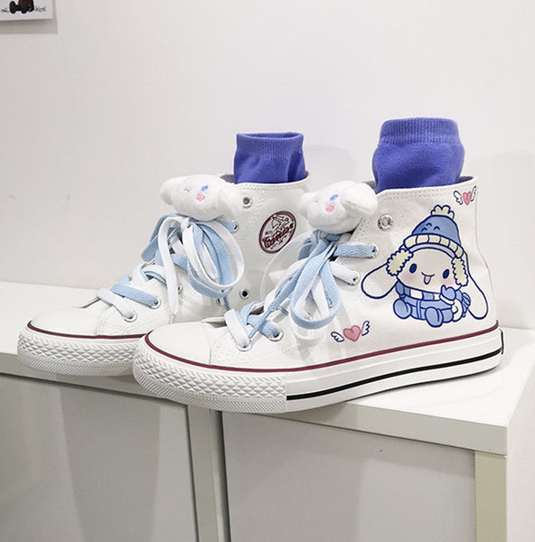 Fashion Anime Canvas Shoes JK2654