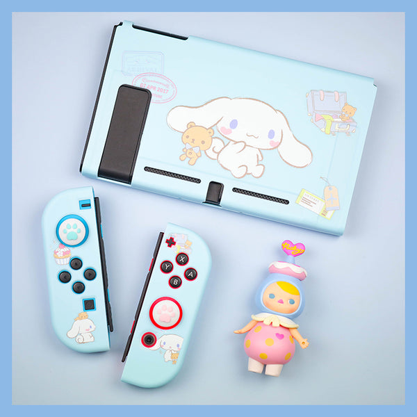 Cartoon Cinnamoroll Switch Skin Protector Case Cover Set JK2339
