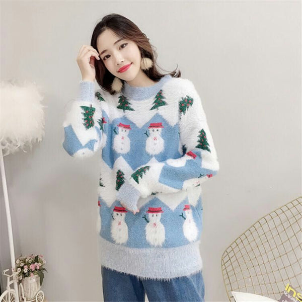 Fashion Snowman Sweater JK1963