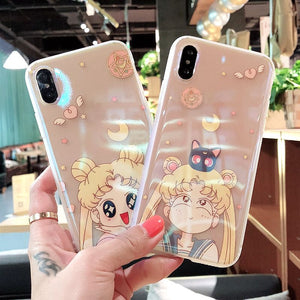 Sailormoon Usagi Phone Case for iphone 7/7plus/8/8P/X/Xs/XR/Xs MAX JK1063