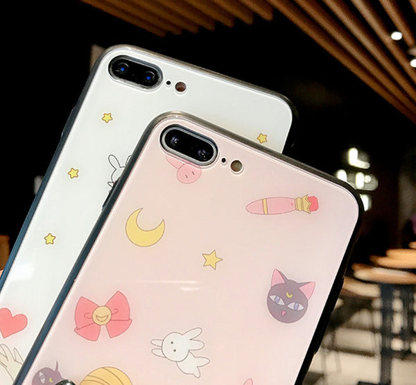 Sailormoon Usagi Phone Case for iphone 6/6s/6plus/7/7plus/8/8P/X/XS/XR/XS Max JK1599