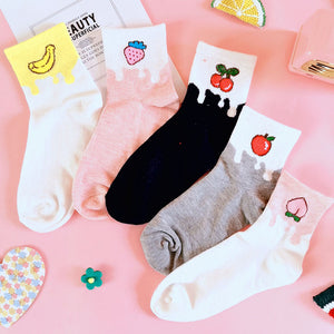 Lovely Fruits Socks JK1954