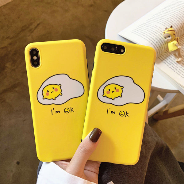 Gudetama Phone Case for iphone 6/6s/6plus/7/7plus/8/8P/X/XS/XR/XS Max JK1460