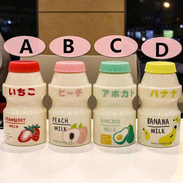 Cute Fruits Milk Water Bottle  JK2013