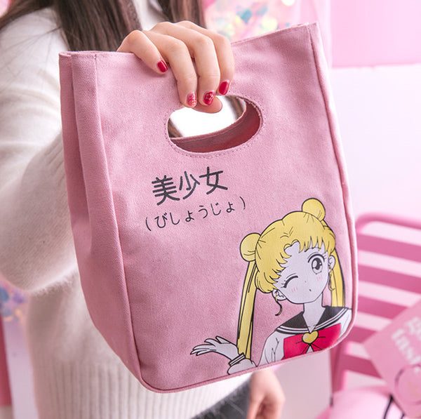 Sailor Moon Usagi Lunch Box Bag JK1327