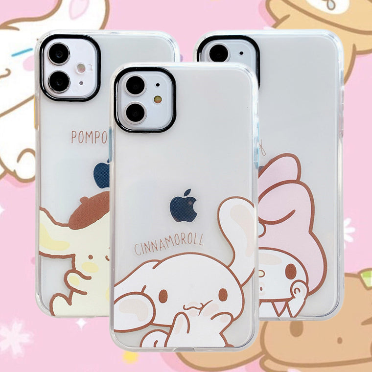 Cartoon Dog Phone Case for iphone7/7plus/8/8P/X/XS/XR/XS Max/11/11 pro/11 pro max JK2148