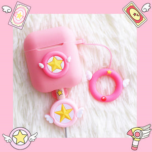 Sakura Iphone Earphone Box and Date Wire Protector  JK1113