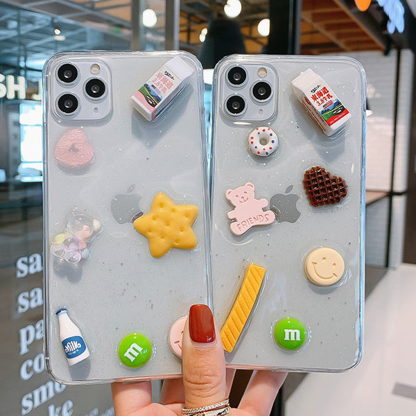 Sweet Foods Phone Case for iphone 6/6s/6plus/7/7plus/8/8P/X/XS/XR/XS Max/11/11 pro/11 pro max JK2278