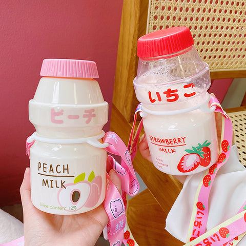 Cute Fruits Milk Water Bottle  JK2027
