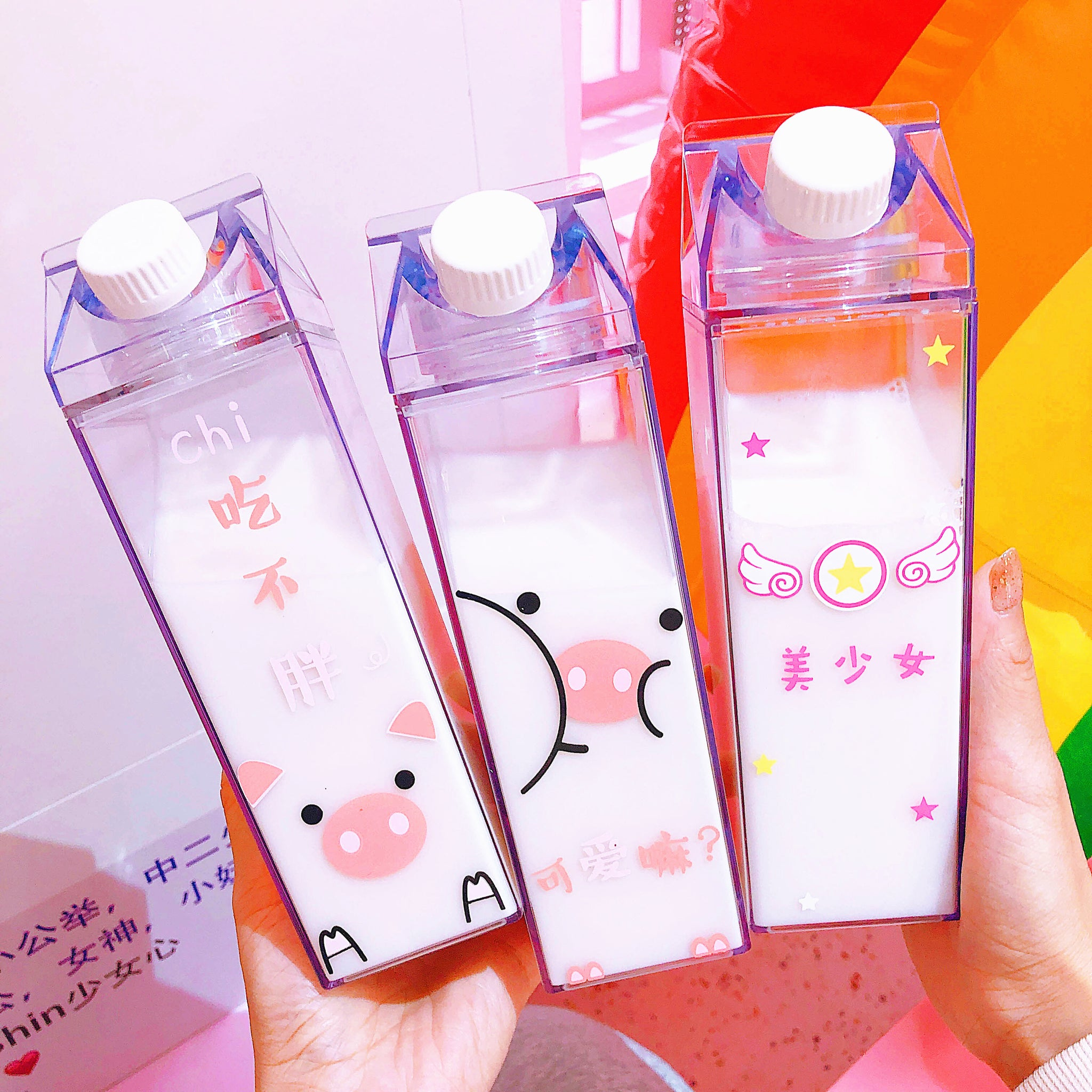 Kawaii Pigs Water Bottle  JK1187