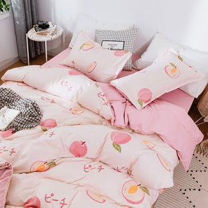 Cute Peach Bedding Set JK2091
