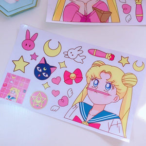 Cute Sailor Moon Stickers JK1283