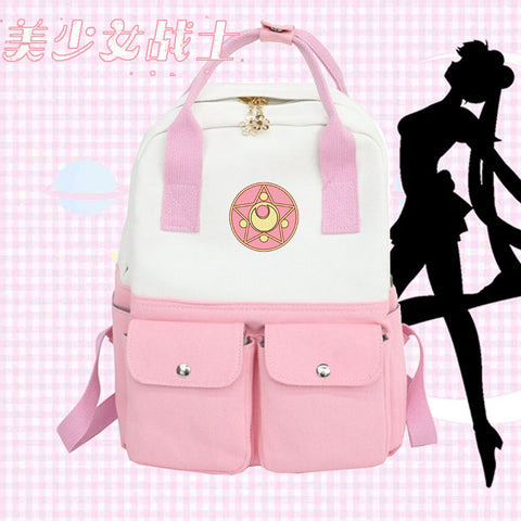 Cartoon Sailormoon Backpack JK1683
