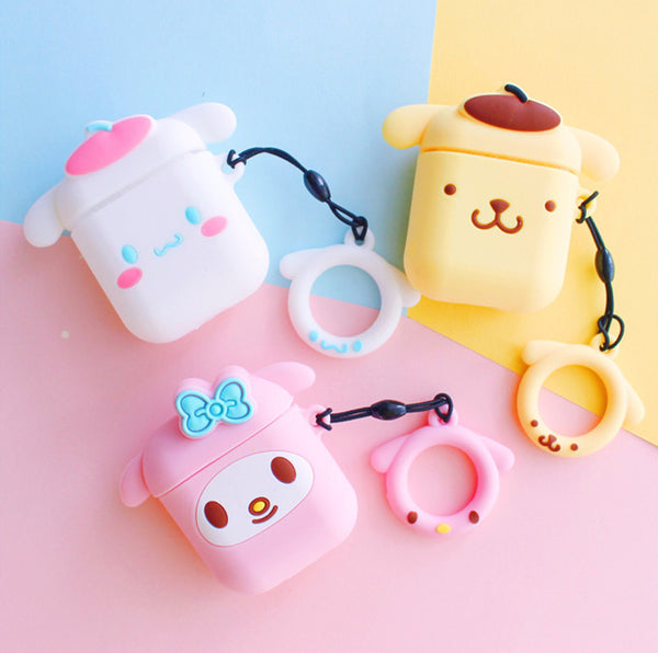 Cinnamoroll and My Melody Airpods Protector Case JK1620