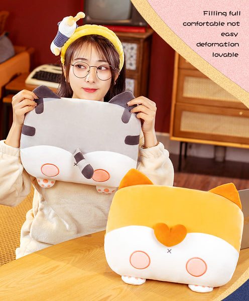 Kawaii Cat Plush Hold Pillow JK2720