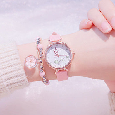 Kawaii Strawberry Quartz Watch  JK1554
