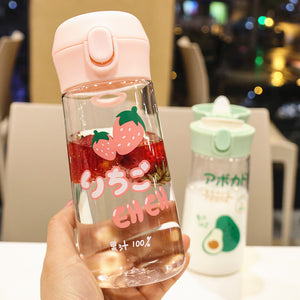 Cute Strawberry Water Bottle  JK2137
