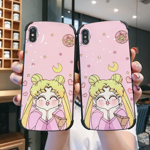Lovely Usagi Phone Case for iphone 6/6s/6plus/7/7plus/8/8P/X/XS/XR/XS Max JK1578