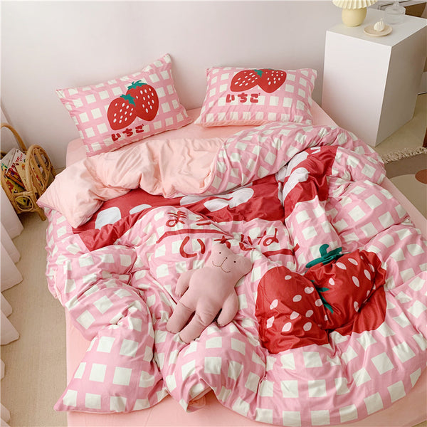 Strawberry Bedding Set JK1991