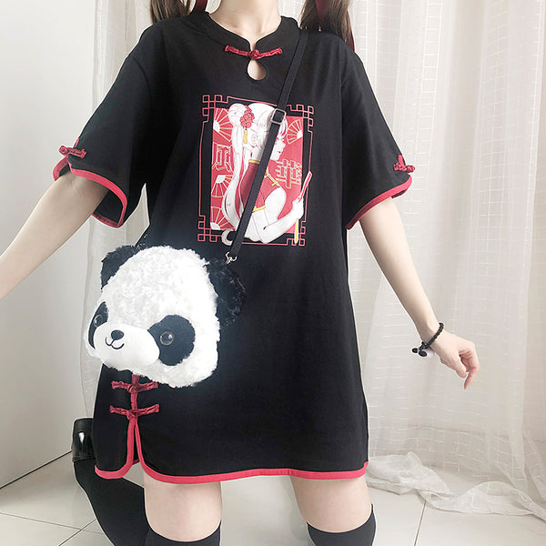 Chinese Girl T-shirt JK2241