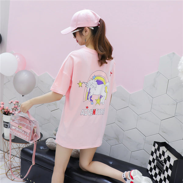 Fashion Unicorn Long T-Shirt  JK1353