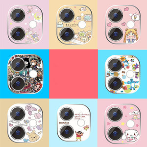 Cartoon Cinnamoroll Iphone Lens Stickers JK2063
