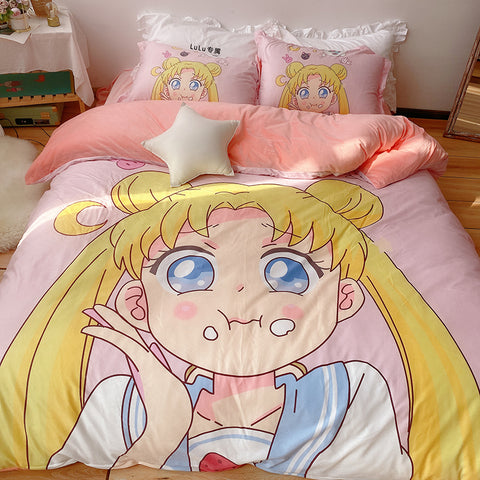 Sailormoon Usagi Four Piece-suit Bedding JK2012