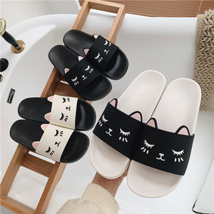 Lovely Cats Slippers JK2240