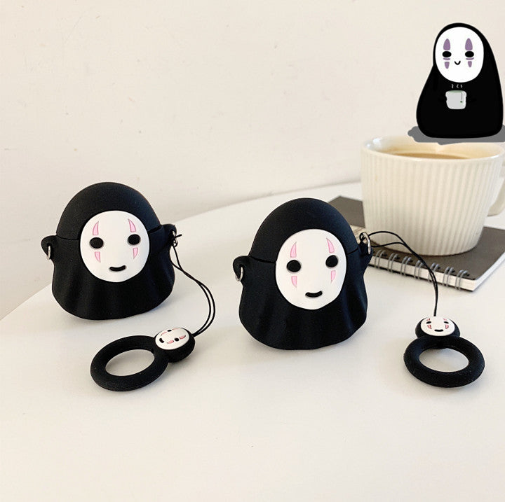 Cute No Face Man Airpods Protector Case  JK1704