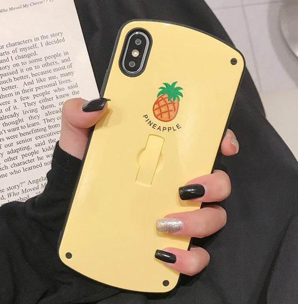 Avocado and Pineapple Phone Case for iphone 6/6s/6plus/7/7plus/8/8P/X/XS/XR/XS Max JK1584