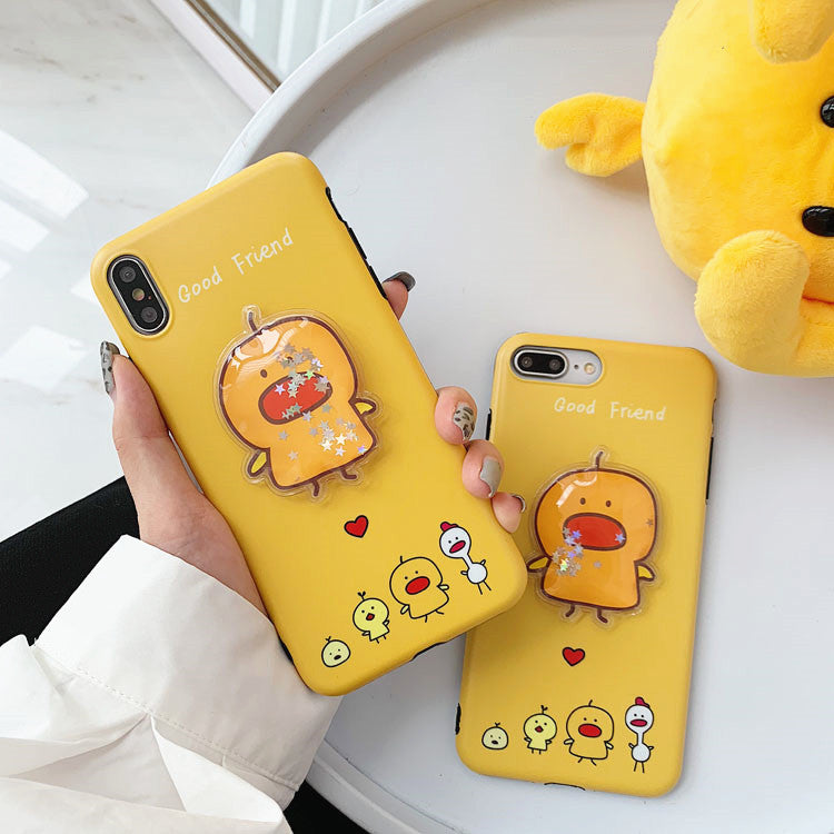 Liquid Duck Phone Case for iphone 6/6s/6plus/7/7plus/8/8P/X/XS/XR/XS Max JK1600