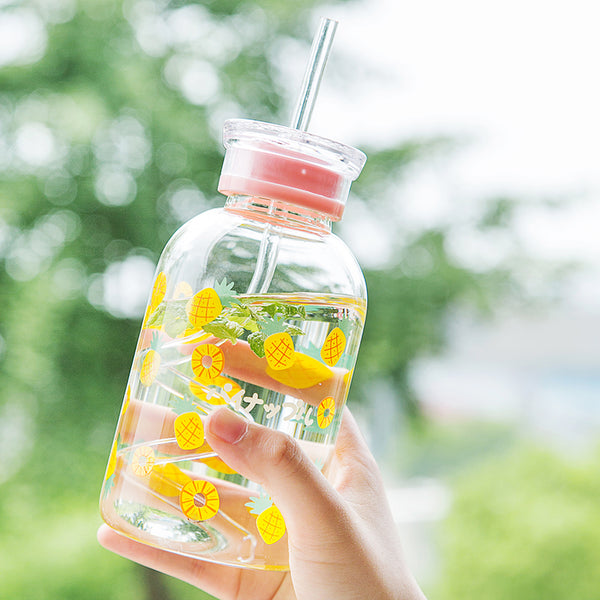 Kawaii Strawberry Water Bottle  JK2279