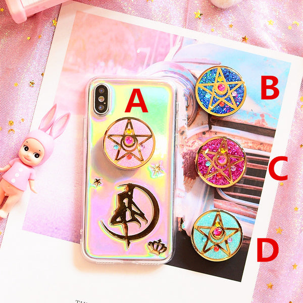Sailormoon and Sakura Phone Air Bag Bracket  JK1256