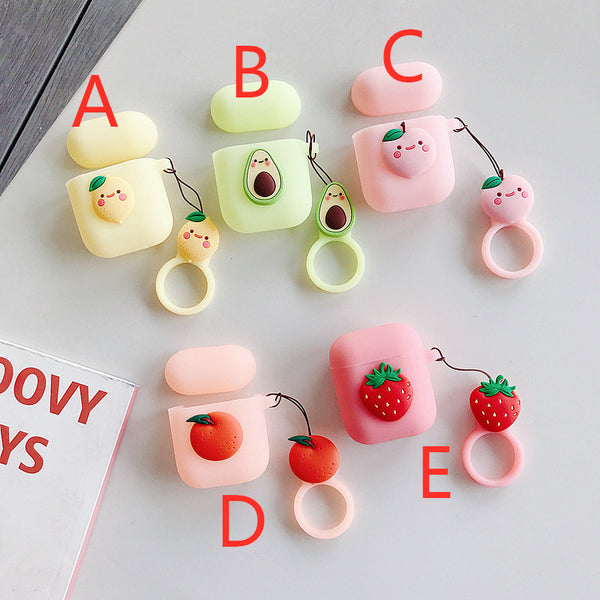 Lovely Fruits Airpods Protector  JK1694