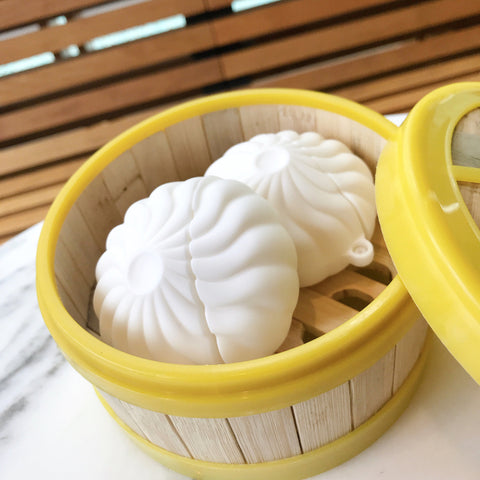 Small Steamed Bun Airpods Protector Case JK2023