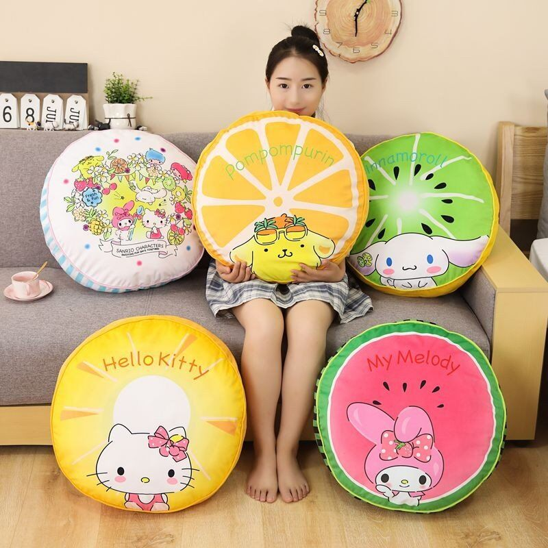 Cartoon Round Seat Cushion JK2237