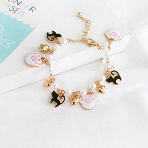Lovely Cat Paw Bracelet JK1889