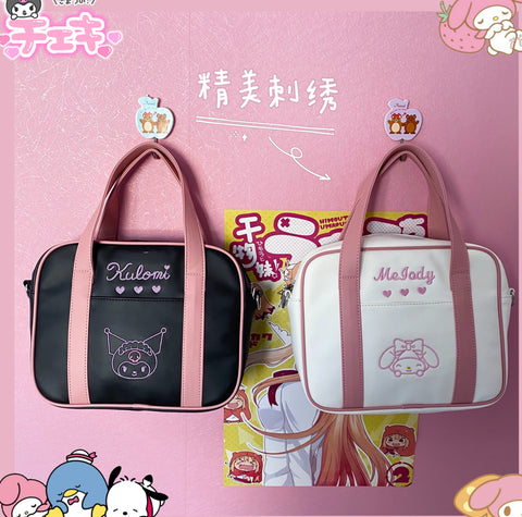 Cartoon Anime Shoulder Bag JK2722