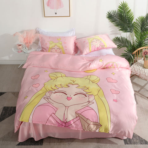 Smile Sailormoon Usagi Four Piece-suit Bedding JK2069
