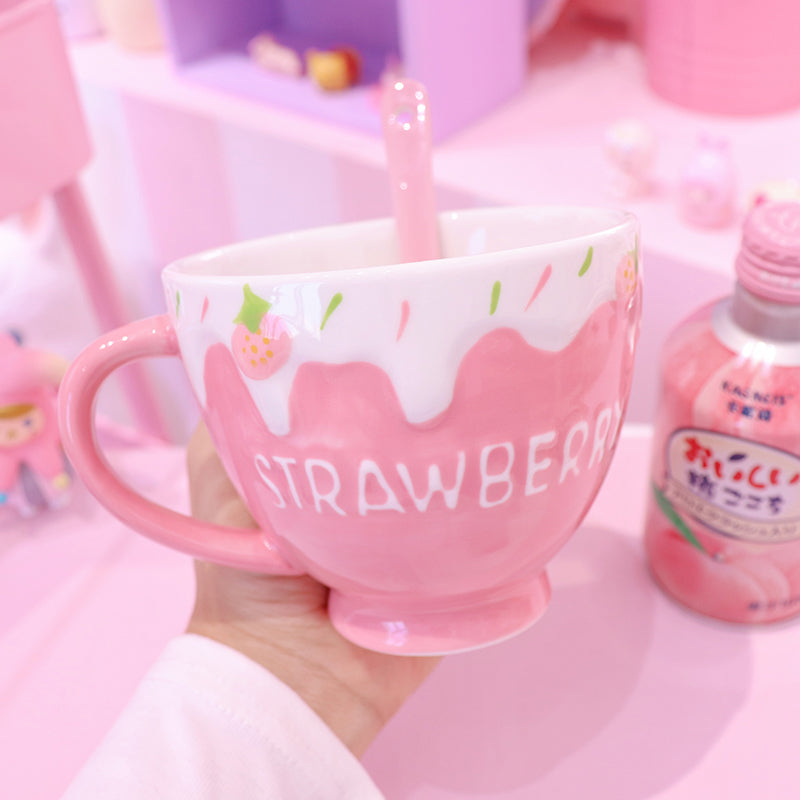 Kawaii Strawberry Bowl JK2401