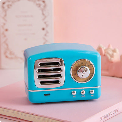 Retro Radio Rechargeable Bluetooth Speaker  JK1172