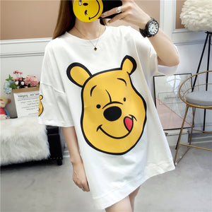 Winnie Bear Long T-shirt JK1455